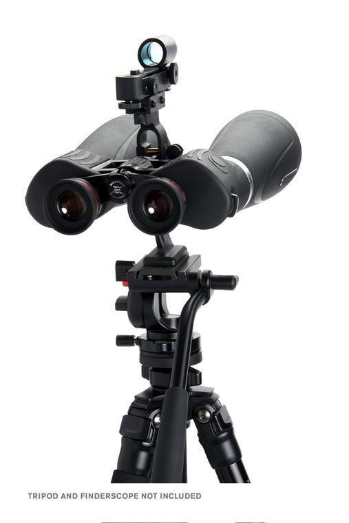 Ống nhòm thiên văn Celestron SkyMaster Pro 15×70 sử dụng chân đế đi kèm
