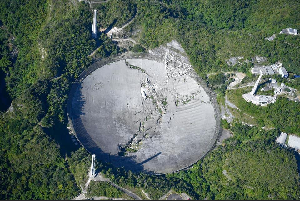 sập kính thiên văn